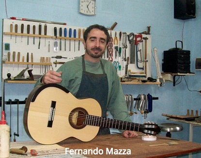 FERNANDO MAZZA, Italy Cedar Double Top  2017  Price : 4,750.00 GBP